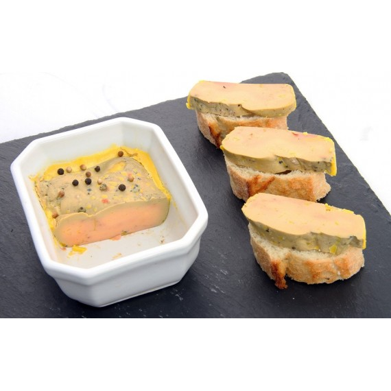 Gers lightly cooked duck foie gras (300g)